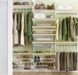 Оборудование гардеробной комнаты своими силами
